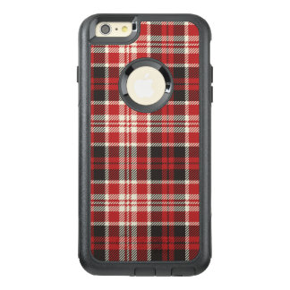 Red and Black Plaid Pattern OtterBox iPhone 6/6s Plus Case