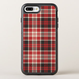 Red and Black Plaid Pattern OtterBox Symmetry iPhone 8 Plus/7 Plus Case