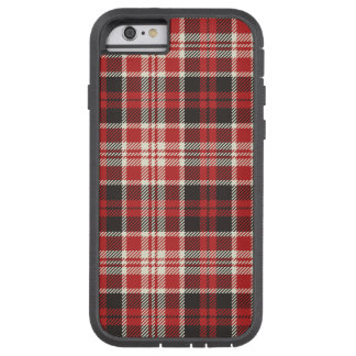 Red and Black Plaid Pattern Tough Xtreme iPhone 6 Case
