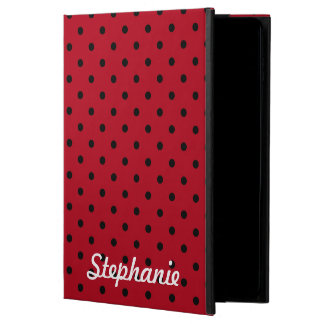 Red and Black Polka Dot Pattern