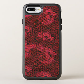 Red and Black Snake Skin OtterBox Symmetry iPhone 8 Plus/7 Plus Case