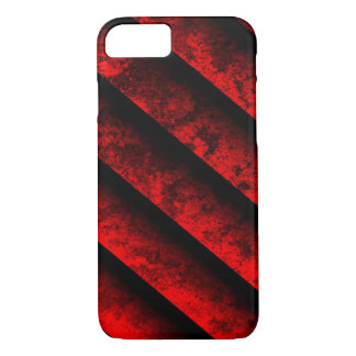 Red and Black Striped iPhone 7 Case