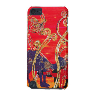 Red and Blue Camels iPod Touch (5th Generation) Cover