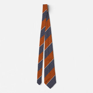 Red and Blue Damask Pattern Tie