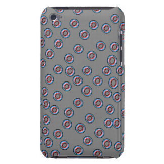 Red and blue dot Ipod case