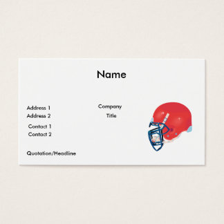 red and blue football helmet vector graphic