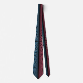 Red and Blue Lights Tie