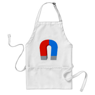 Red And Blue Magnet Standard Apron