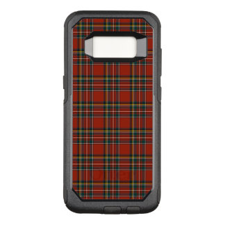 Red and Blue Royal Stewart Classic Scottish Plaid OtterBox Commuter Samsung Galaxy S8 Case
