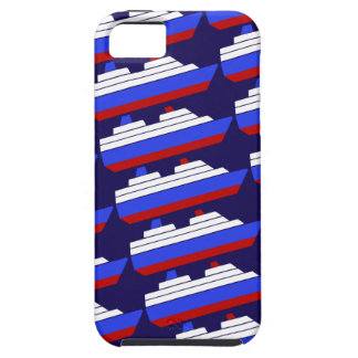 red and blue sea ship iPhone 5 covers