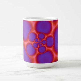 Red and Blue Spiral Holes  Mug