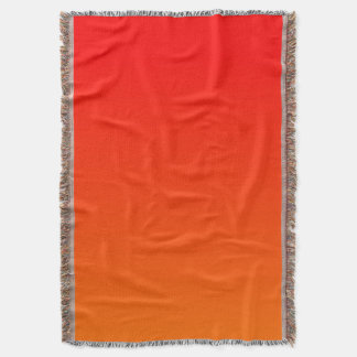 Red and Bright Orange Ombre Background