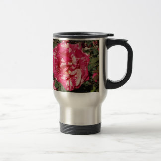 Red and Cream Rose Mug