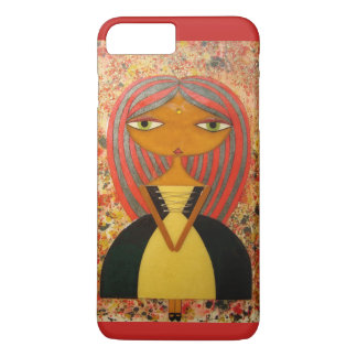 """Red and Gold"" iPhone 7 Plus Case! (Red) iPhone 8 Plus/7 Plus Case"