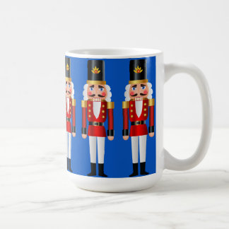 Red and Gold Nutcrackers Coffee Mug