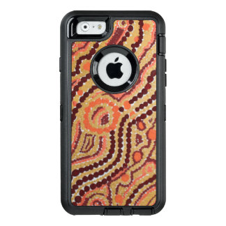 Red and Gold Space OtterBox iPhone 6/6s Case