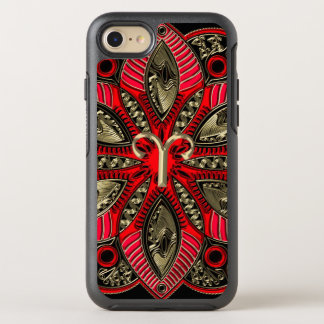 Red and Gold Zodiac Sign Aries OtterBox Symmetry iPhone 7 Case