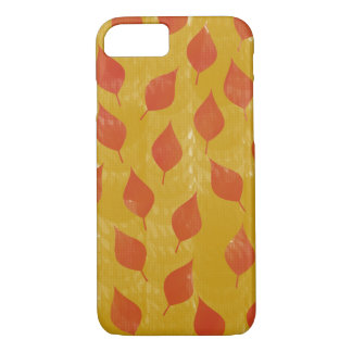 Red and Golden Leaves iPhone 8/7 Case