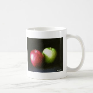 Red and Green Apples 1 Painterly Coffee Mugs