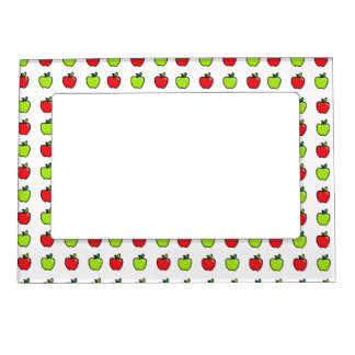Red and Green Apples Magnetic Frame