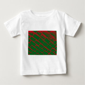 red and green cobbles baby T-Shirt