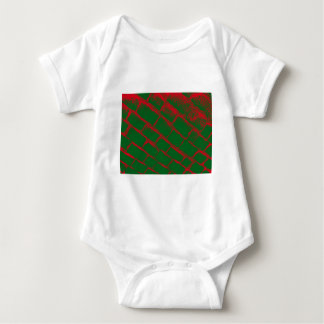 red and green cobbles tee shirts