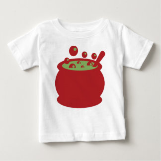 Red and Green Cooking Pot Baby T-Shirt