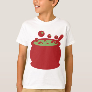 Red and Green Cooking Pot T-Shirt