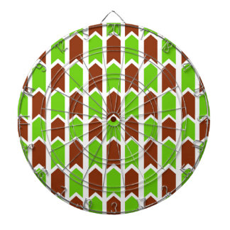 Red and Green Fence Panel Dart Boards