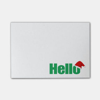 Red and Green Holiday Post-It Notes