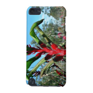 Red and green kangaroo paw flower iPod touch 5G case