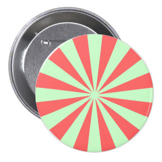 Red and Green Peppermint Candy Pinback Buttons