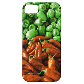 Red and Green Peppers iPhone Case iPhone 5 Case