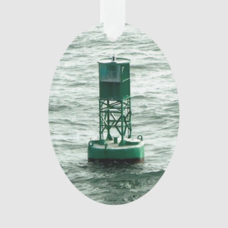 Red and Green Sea Buoys Ornament
