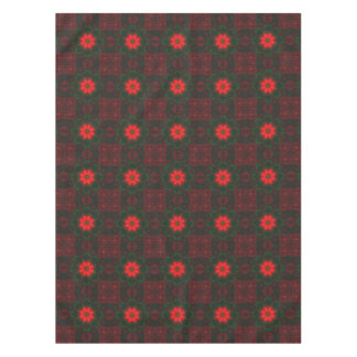 Red and Green Tablecloth