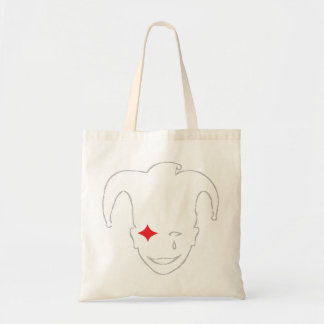 Red and Grey MTJ Budget Tote Bag