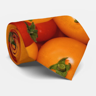 Red and Orange Cherry Tomatoes Tie