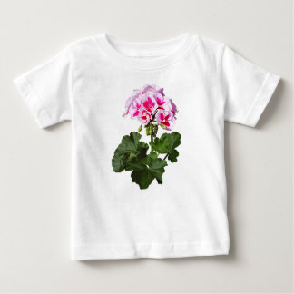 Red And Pink Geranium Baby T-Shirt