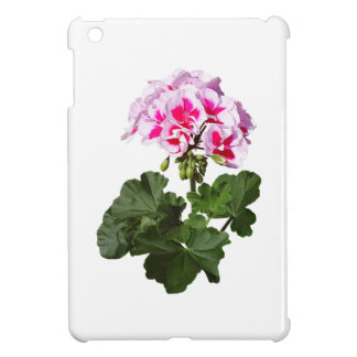 Red And Pink Geranium Case For The iPad Mini