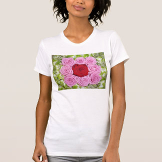 Red and Pink Roses Shirt