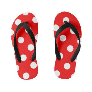 Red and Polka Dots Thongs