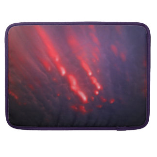Red and Purple Cloud Abstraction Sleeve For MacBook Pro