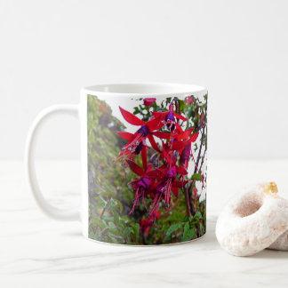 Red and purple Fuchsia Magellanica Coffee Mug