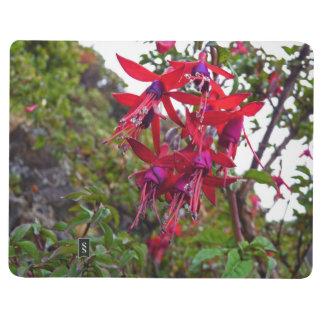 Red and purple Fuchsia Magellanica Journal