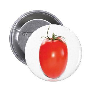 Red and ripe tomato design pins