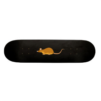 Red and Tan Pet Mouse. Skateboard Decks