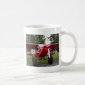 Red and white aircraft, Alaska Coffee Mug