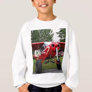 Red and white aircraft, Alaska Sweatshirt