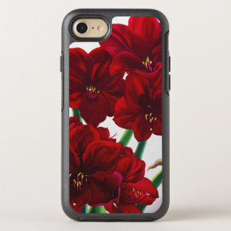 Red and White Amaryllis 2008 OtterBox Symmetry iPhone 8/7 Case