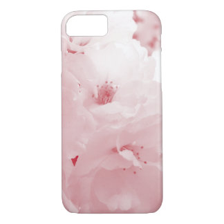 Red and white cherry blossom sakura flowers iPhone 7 case